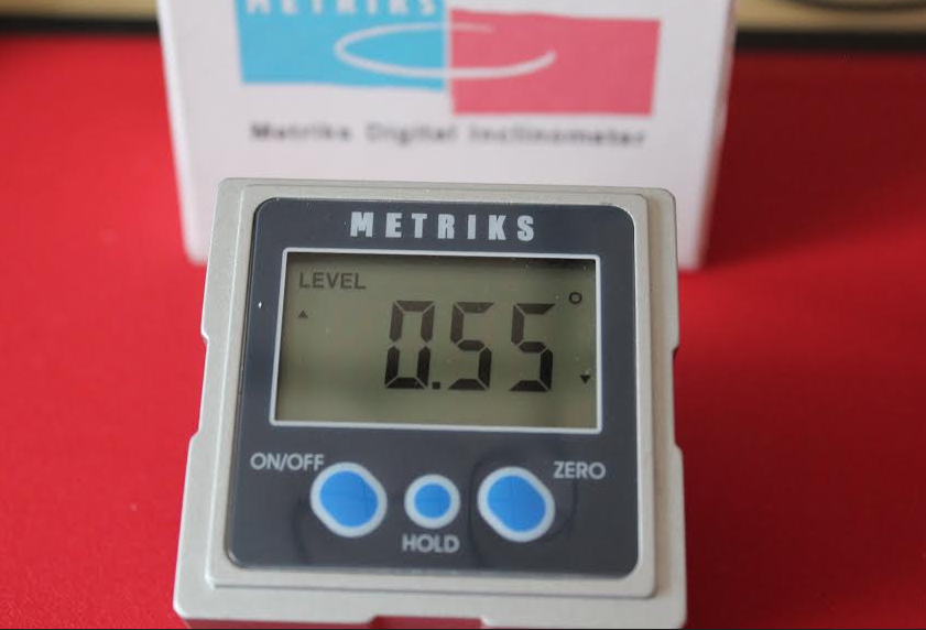 Metriks inclinometer
